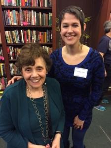 Lindsay Faye and Ellen Quint